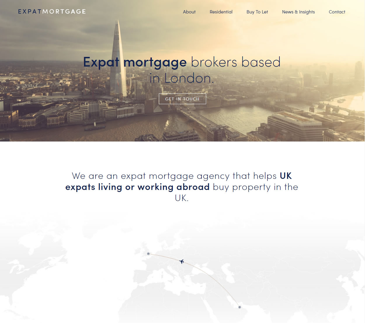 Expat Mortgage Website